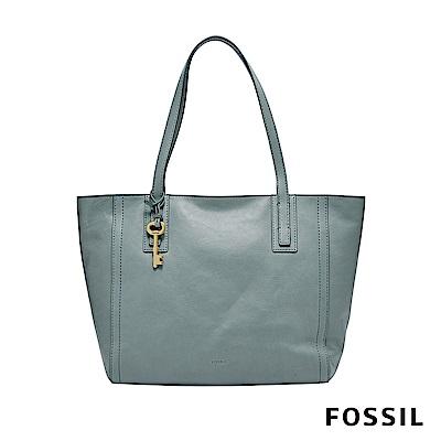 FOSSIL EMMA 托特包-灰藍色