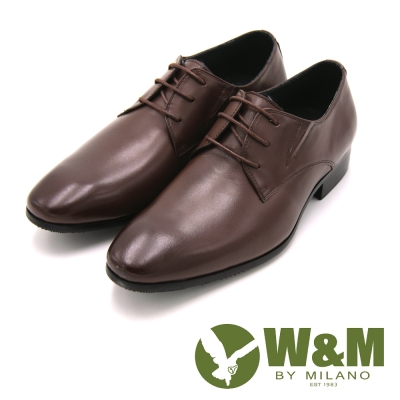 W&M 時尚正裝皮鞋 男鞋-棕