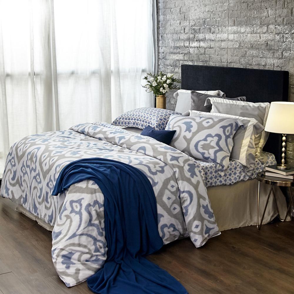 BBL華麗典藏100%萊賽爾纖維(天絲)特大兩用被四件式床包組