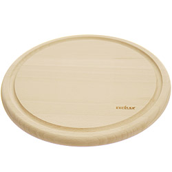 EXCELSA Realwood雙面溝槽櫸木砧板(圓25cm)