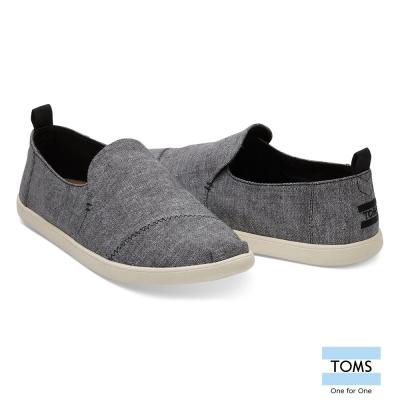 TOMS 水洗帆布休閒鞋-男款