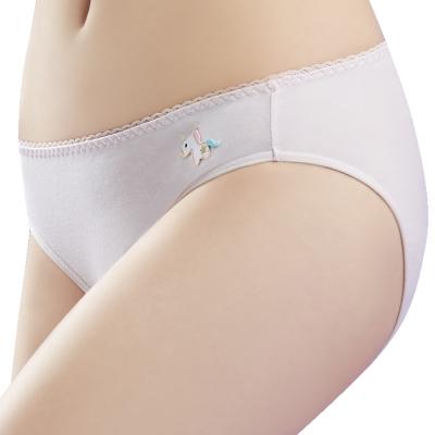 思薇爾獨角獸自由風系列M-XL素面低腰三角內褲粉紅色