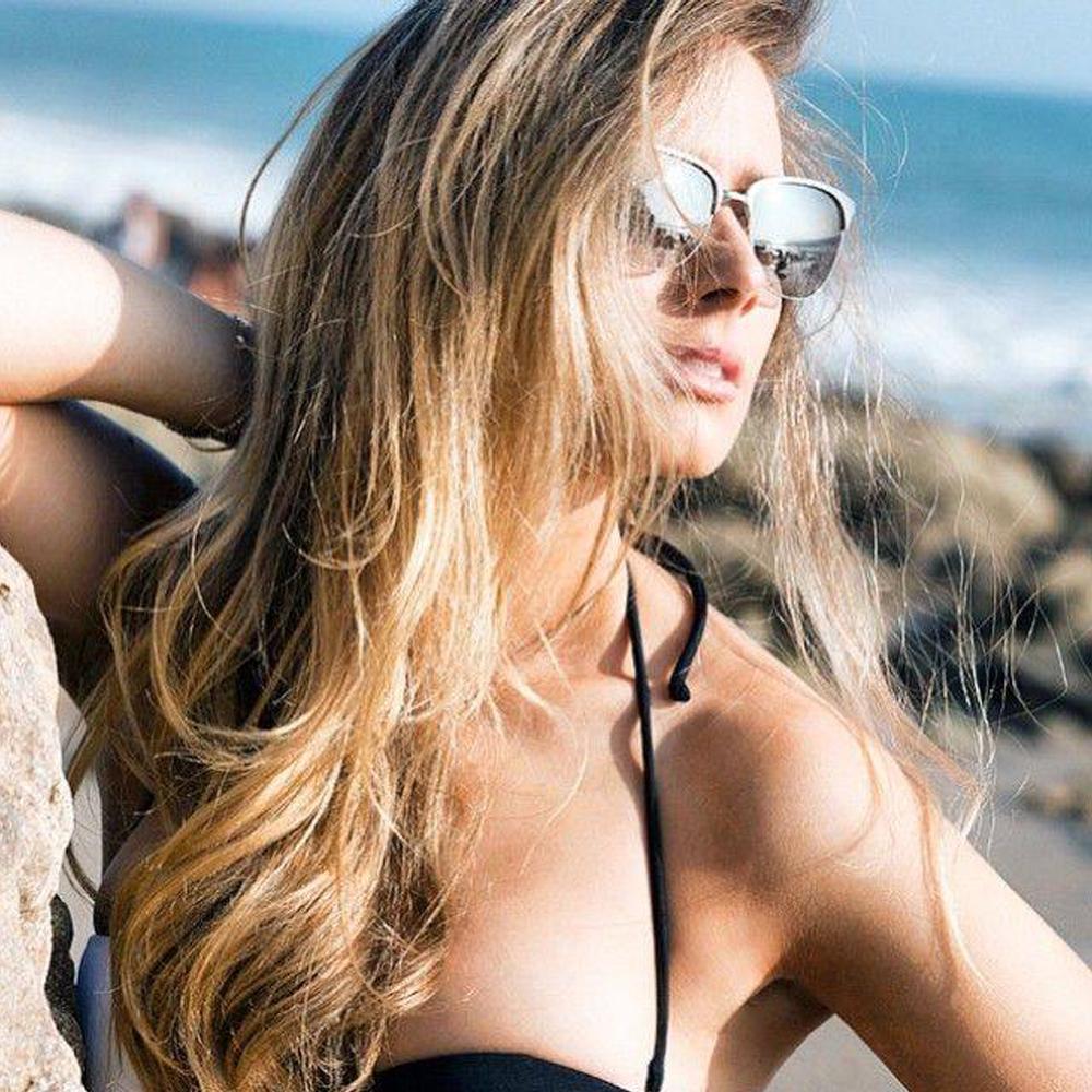 OLIVER PEOPLES太陽眼鏡 好萊塢星鏡/銀#LEIANA 52116I
