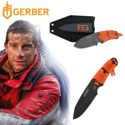 Gerber 貝爾求生系列傘繩固定直刀