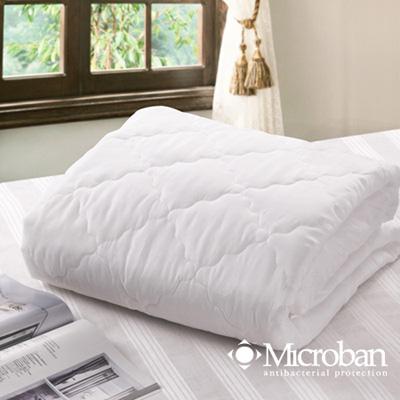 Microban-潔淨宜人 新一代抗菌平單式壓花保潔墊-雙人