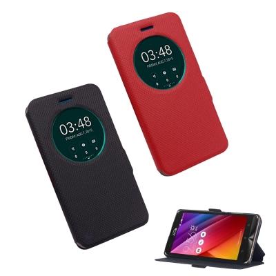 揚邑 ASUS Zenfone 2 Laser /5.0吋 星光開窗智能休眠磁扣皮套