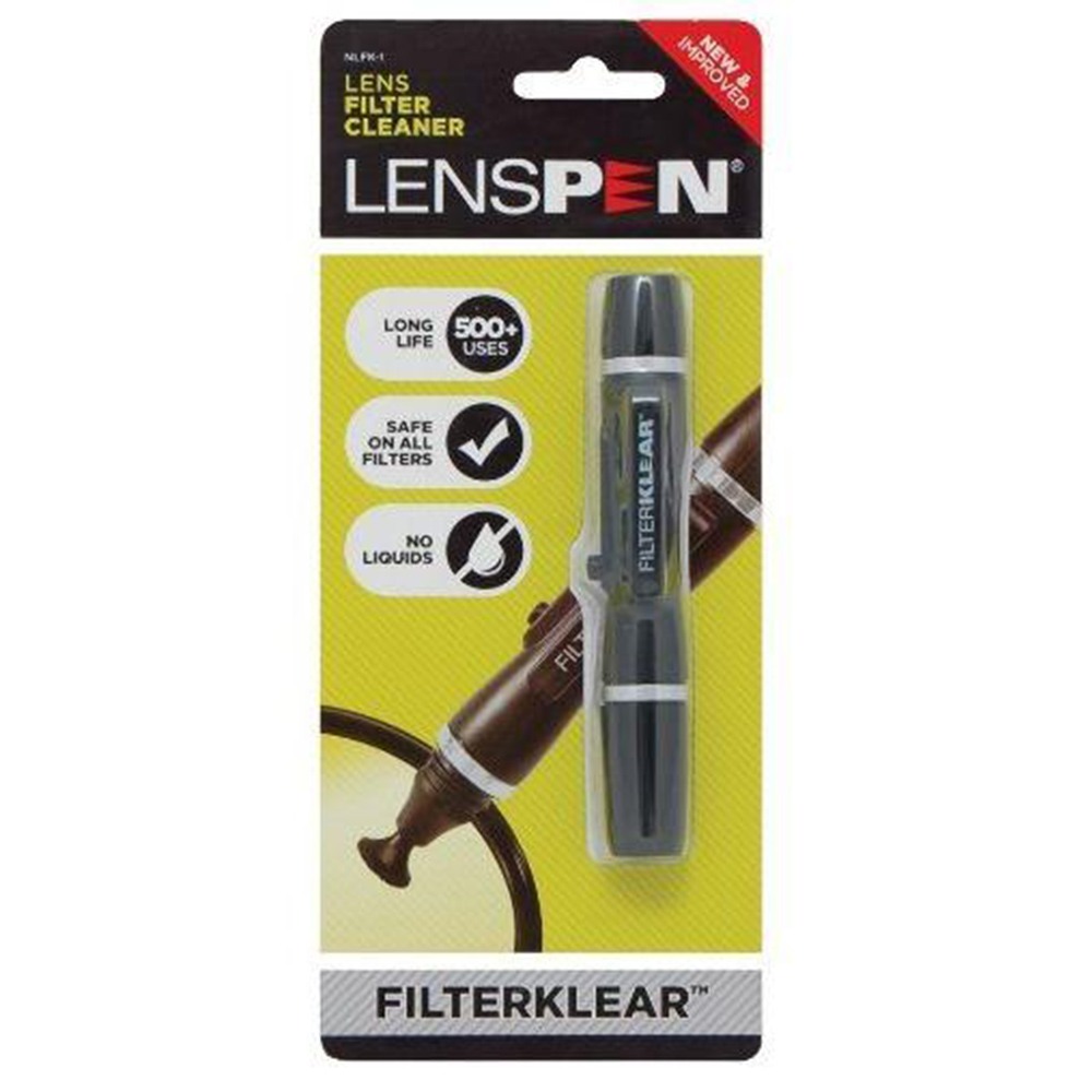 Lenspen NLFK-1濾鏡清潔筆(黑色)(公司貨)