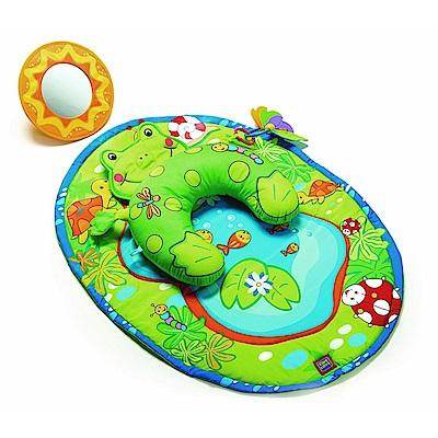 Tiny Love 青蛙遊艇遊樂毯-小小運動場系列