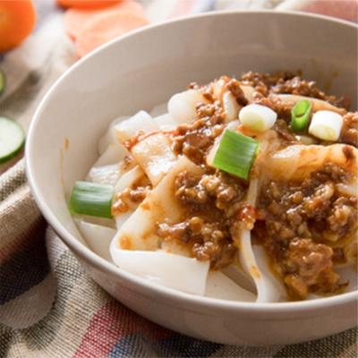 栗園米食 川味辣醬粄條(辣)(5入/袋)