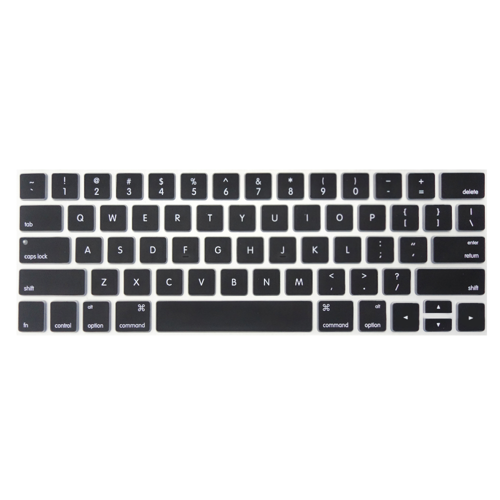 【SHOWHAN】MacBook Pro Touch Bar 13吋英文鍵盤膜 黑色