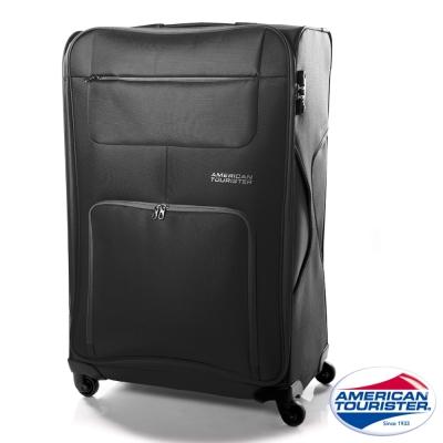 AT美國旅行者 29吋MV+加大容量休旅行李箱(黑)