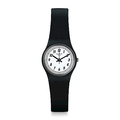Swatch 就是SWATCH SOMETHING BLACK 經典黑尚手錶