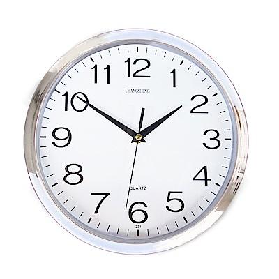 便利社 12吋超靜音 經典時鐘(