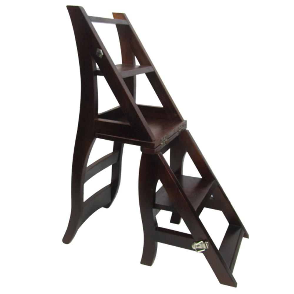邏爵 實木變換階梯椅