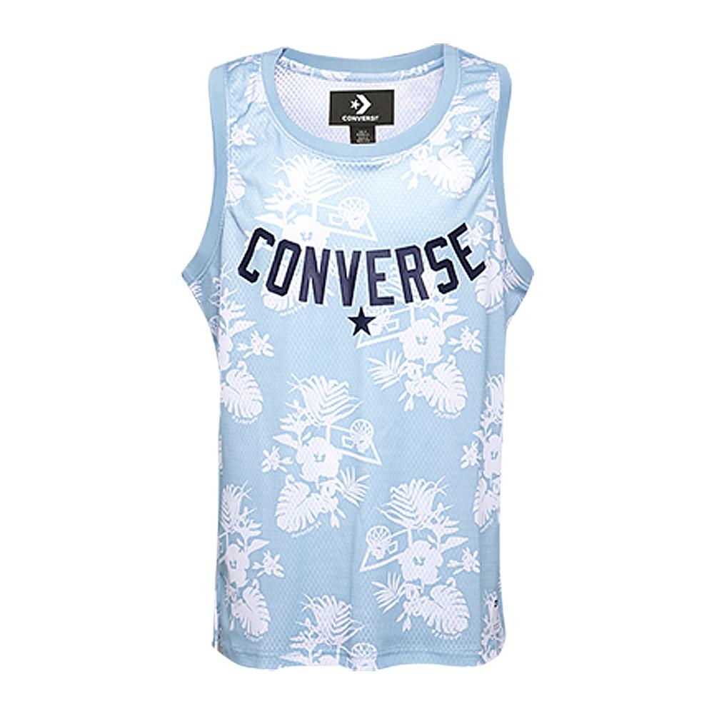 CONVERSE-男休閒背心10005852-A02-水藍