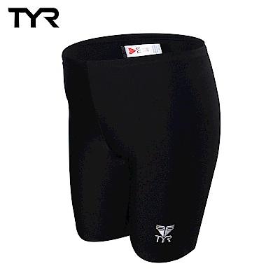 美國TYR兒童及膝黑色訓練款泳褲Solid Jammer JUNIOR