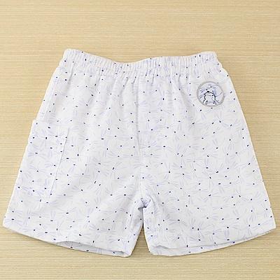 愛的世界 純棉鬆緊帶蜻蜓印花短褲/6M~2歲
