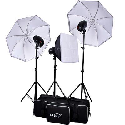 NICE 攝影棚三燈組 (GY-150)