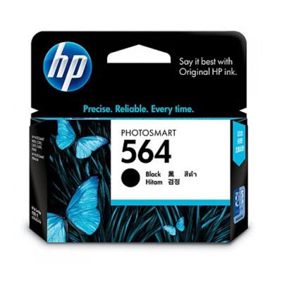 HP  NO.564 原廠黑色墨水匣CB316WA