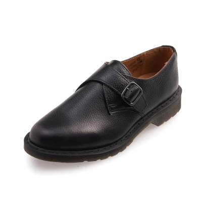 Dr.Martens PADRIAC-單扣鋼頭孟克鞋-男款-黑色