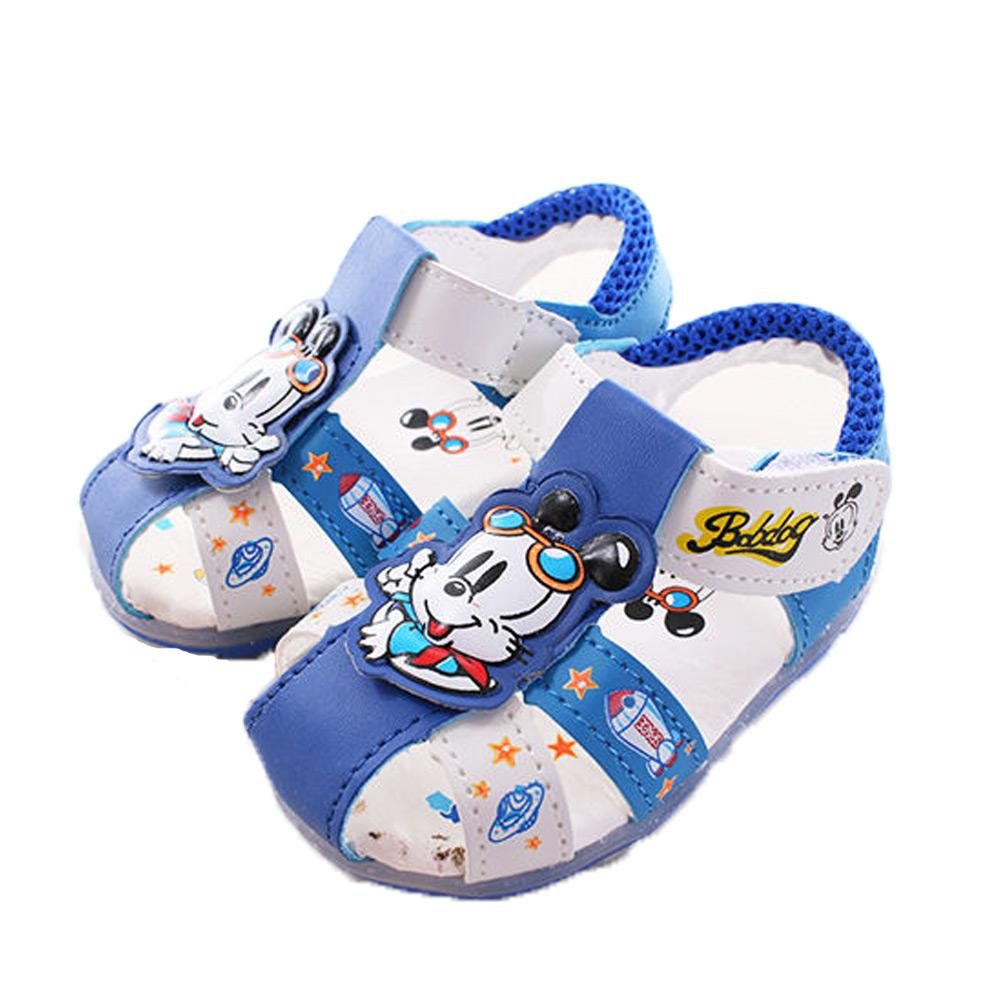 BOB DOG-涼鞋-藍 sh9694