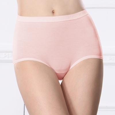 內褲 天絲棉質M-Q(2XL)高腰內褲 甜蜜粉 可蘭霓Clany