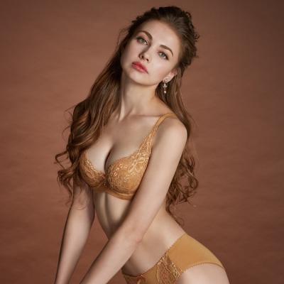 曼黛瑪璉 Hibra大波內衣  E-G罩杯(膚棕色)
