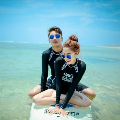 Biki比基尼妮泳衣    雅意長袖泳衣情侶泳衣男泳衣(男生購買區)