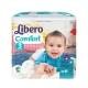 Libero麗貝樂-黏貼式嬰兒紙尿褲-3號M-30