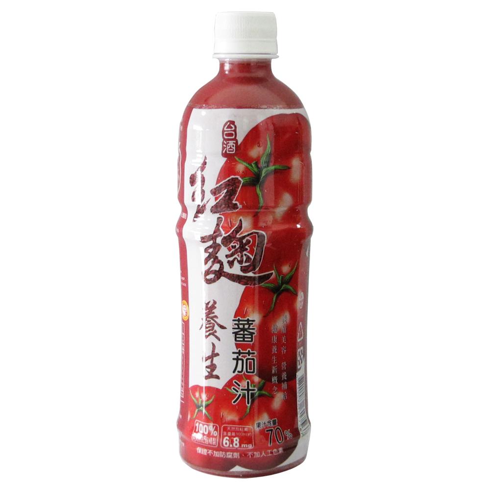 台酒TTL紅麴養生蕃茄汁 (570ml x 4入)