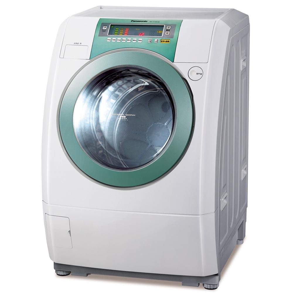 (早鳥優惠)Panasonic國際牌13公斤變頻滾筒式洗衣機NA-V130UW-H