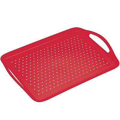 KitchenCraft 止滑托盤(紅)