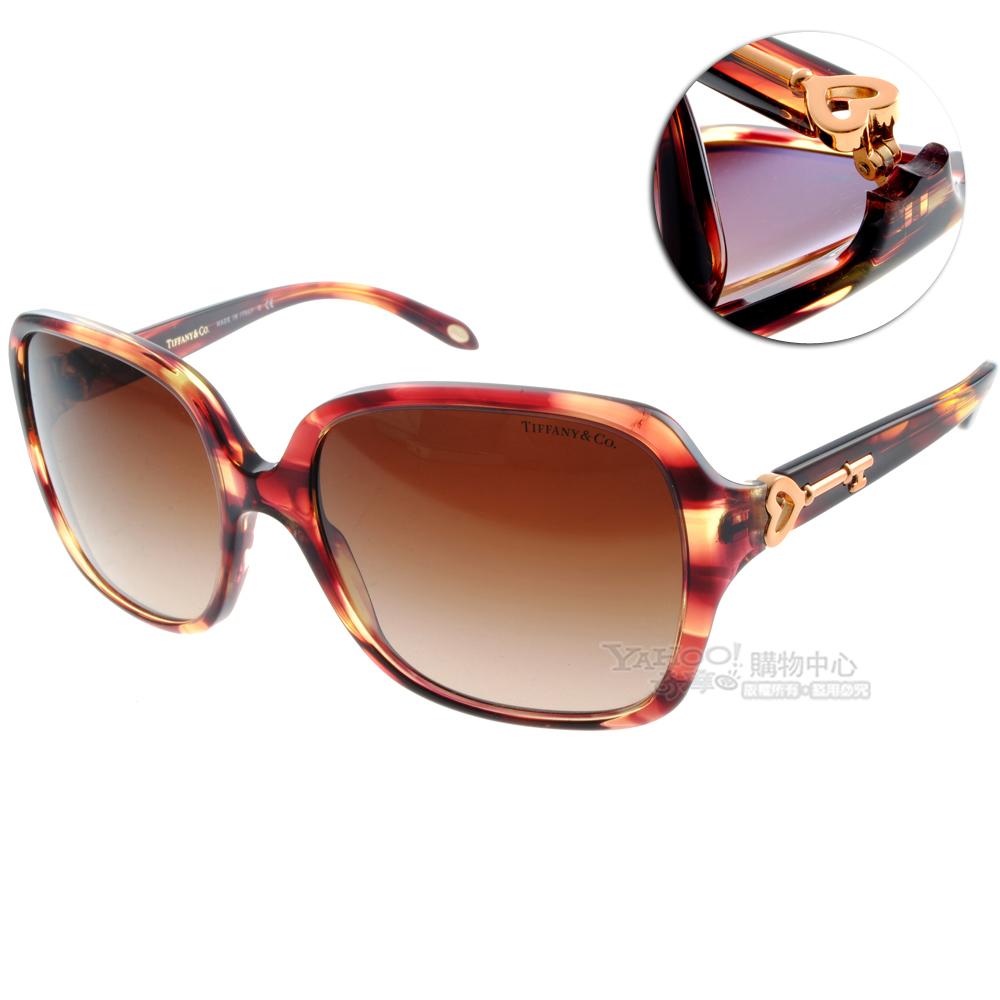Tiffany&CO.太陽眼鏡 經典傳世/紅琥珀色#TF4056 80813B