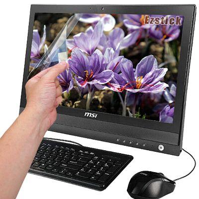 EZstick 靜電式霧面螢幕貼(多點觸控專用滑順型)-MSI AP2000 20吋 專用
