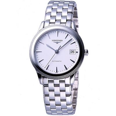 LONGINES 典藏系列典藏機械腕錶-白 L47744126