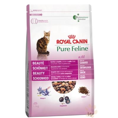 法國皇家-PF1亮毛四物補貓專用飼料3kg