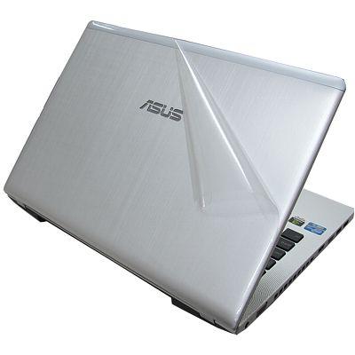 Ezstick 二代透氣機身貼(透明菱格紋)-ASUS N46 N46VM 專用
