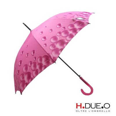 義大利 H.DUE.O 繽紛泡泡抗UV直骨傘 4色可選