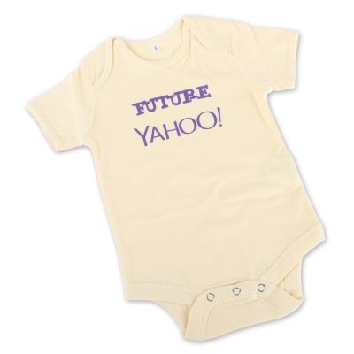 Yahoo! 寶寶連身衣-黃色