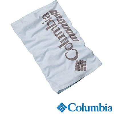 Columbia 哥倫比亞 男女-野跑防曬50涼感快排頸圍 白色UCU00260WT