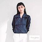 吳日云- 深藍翻領襯衫