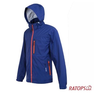 【瑞多仕】男款 2.5 layer 防水透濕夾克_RAW101 暗藍紫色 V1