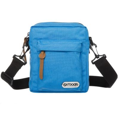 OUTDOOR 繽紛原色斜背包-淺藍OD151102BL