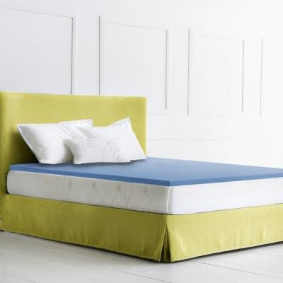 幸福角落 防蹣抗菌布套3cm釋壓記憶床墊-雙人加大6尺