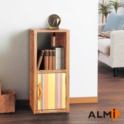 ALMI_SHELF 2 LEVELS 單門隙縫櫃W40*D35*H81CM