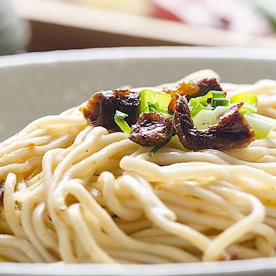 麵條先生 油蔥香菇豬油手工乾拌麵(4入/袋)