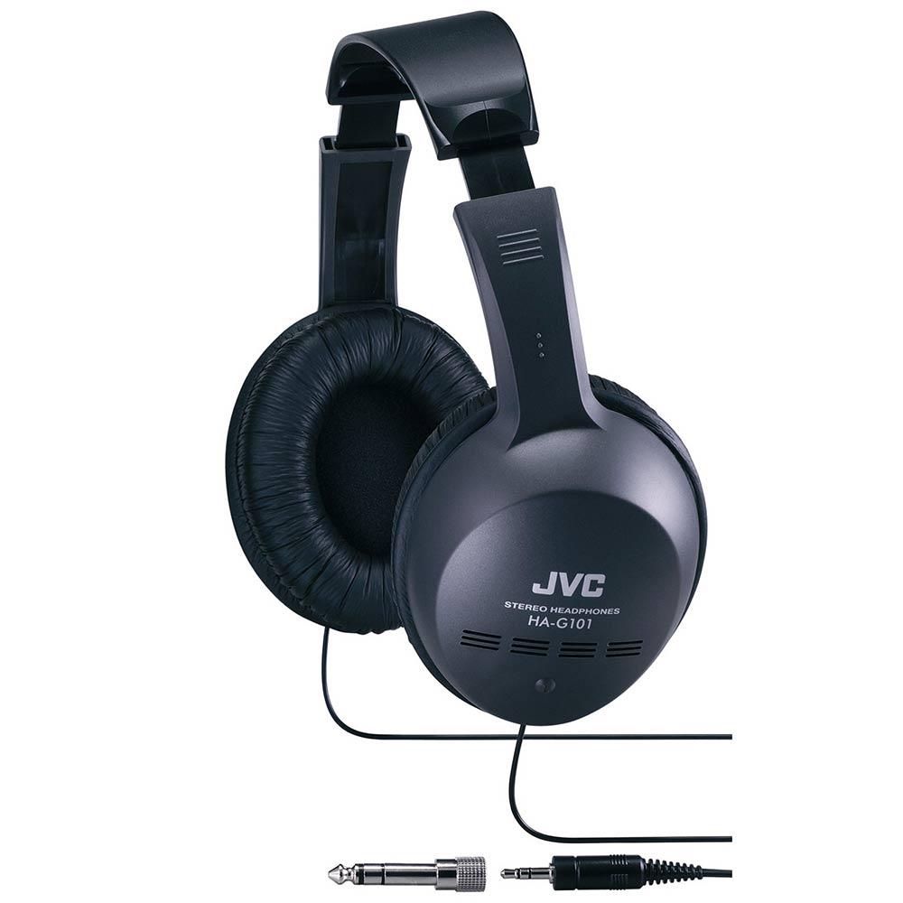 JVC 立體聲全罩式耳機 HA-G101