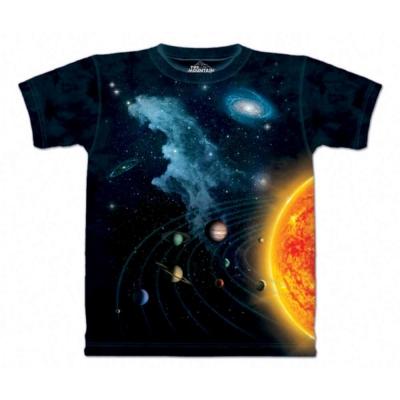 摩達客 美國進口The Mountain 太陽系 純棉環保短袖T恤