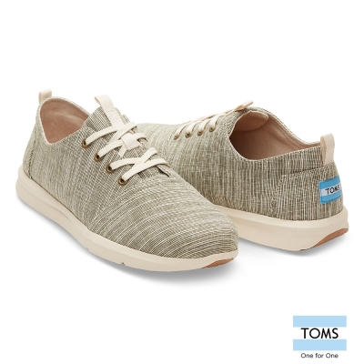TOMS 細條紋休閒鞋-男款