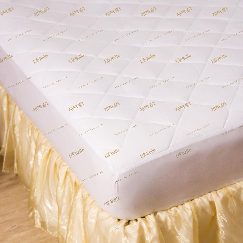義大利La Belle 經典純色 防蹣抗菌包覆式保潔墊--特大